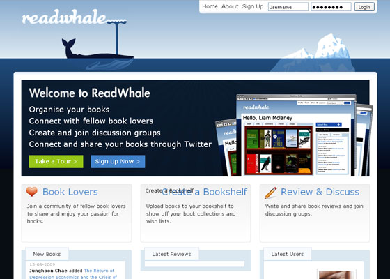 readwhale 30+ Business Web design Inspiration