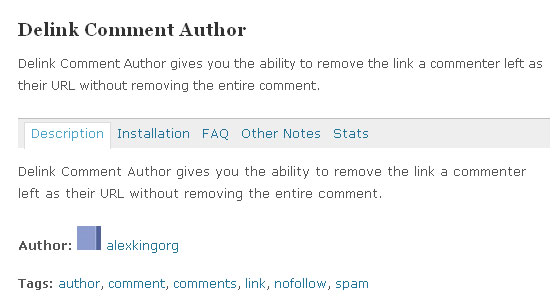 Wordpress Comments Plugin