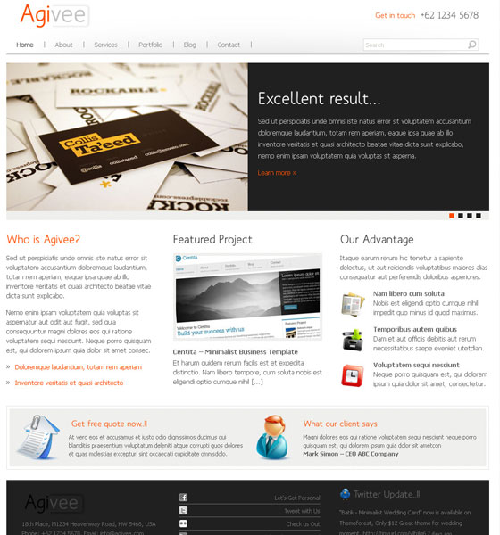 Corporate WordPress Themes