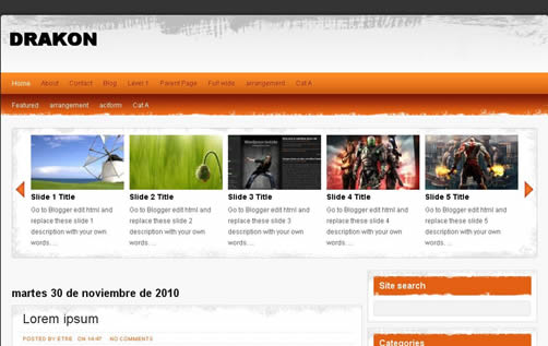 blogger-template15 30+ Blogger Templates