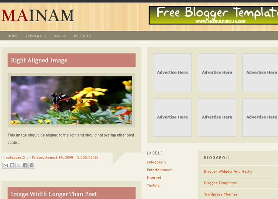 blogger-template30 30+ Blogger Templates