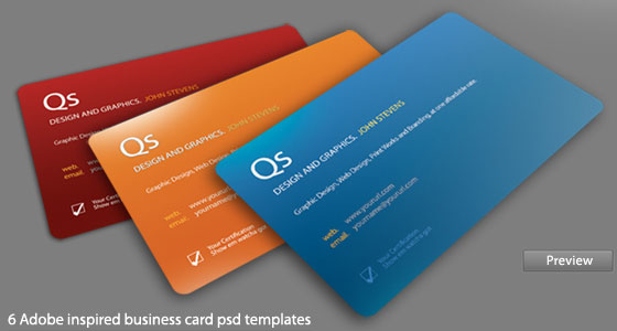 business-card-template20 30+ PSD Business Card Templates