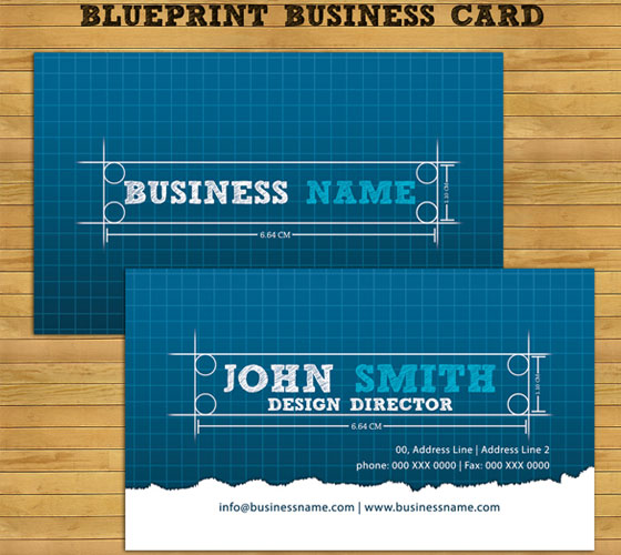 business-card-template27 30+ PSD Business Card Templates