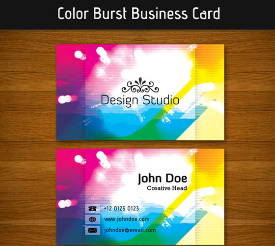 business-card-template29 30+ PSD Business Card Templates