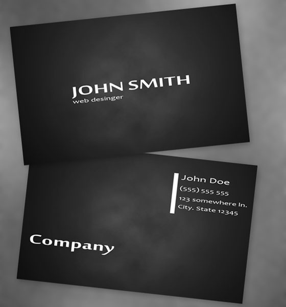 business-card-template8 30+ PSD Business Card Templates