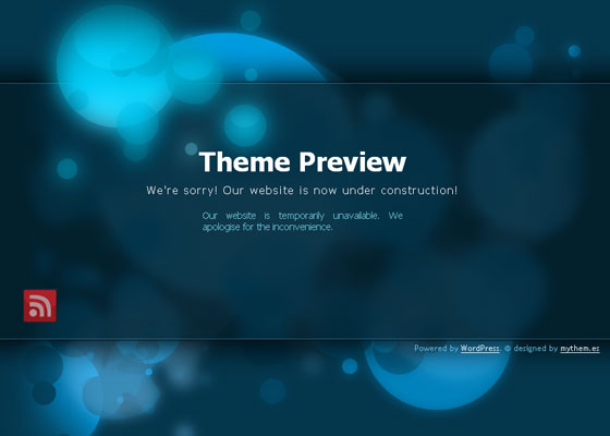 Coming soon WordPress Themes