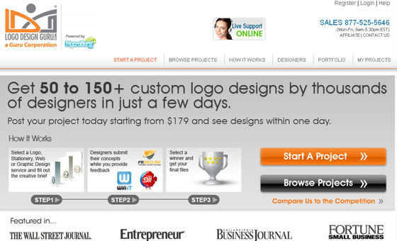 Logo Design Contest Websites