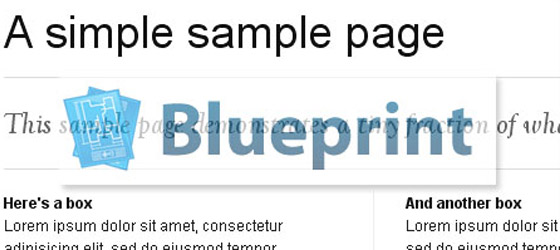 Blue-Print Useful Tools for web developers