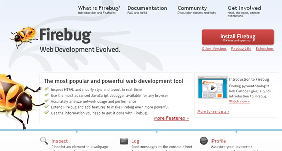 Firebug-Firefox-Extension Useful Tools for web developers