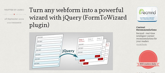 Form-To-Wizard-plugin Useful Tools for web developers