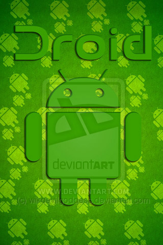 Green-Android 30+ Android Wallpaper
