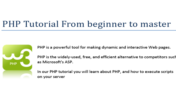 PHP Tutorials For Beginners