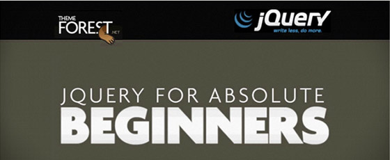 Absolute-Beginners 30+ Best JQuery Tutorials