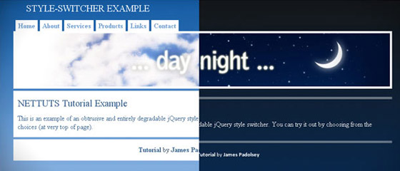 Amazing-jQuery-Style-Switcher 30+ Best JQuery Tutorials
