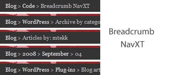 WordPress Breadcrumb Plugins