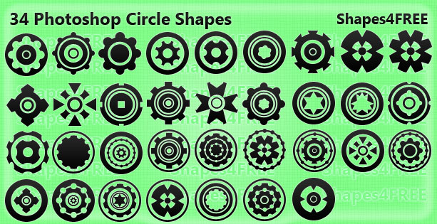Photoshop Custom Shapes
