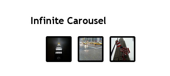 jQuery-Infinite-Carousel 30+ Best JQuery Tutorials