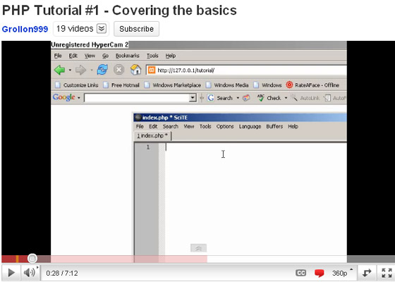 Covering-the-basics 35+ Best PHP Video Tutorials
