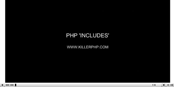 PHP-INCLUDES-1 35+ Best PHP Video Tutorials