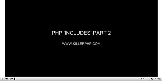 PHP-INCLUDES-2 35+ Best PHP Video Tutorials
