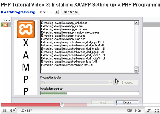 PHP-Programming-Environment 35+ Best PHP Video Tutorials