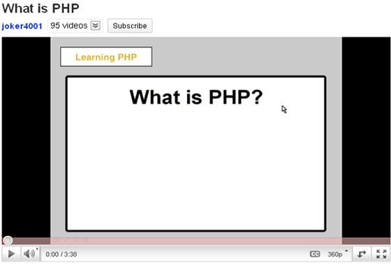 What-is-PHP 35+ Best PHP Video Tutorials
