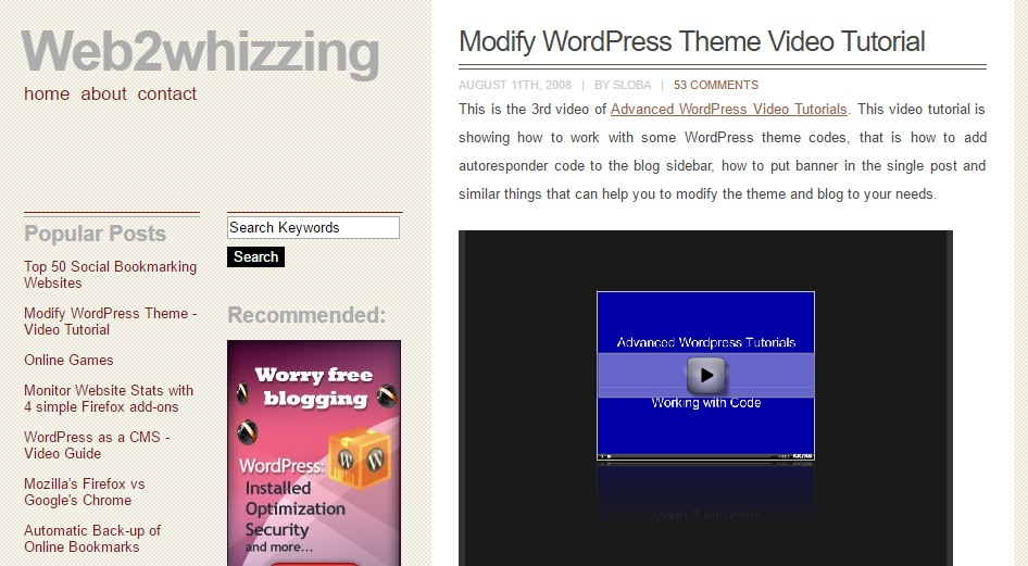 Best WordPress Video Tutorials