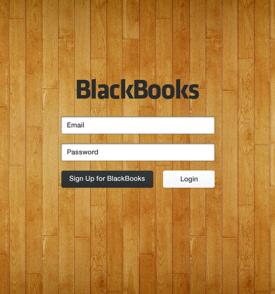 Black-Book-Login 40+ Login Page Design Inspirations