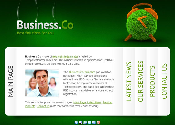 Business-Website-Template 30+ Free PSD Templates