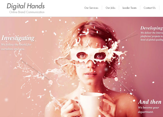 Best HTML5 websites inspirations