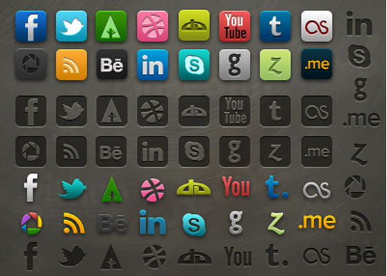 Icon-pack-with-PSD 30+ Free PSD Templates