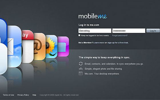 Mobile-ME 40+ Login Page Design Inspirations