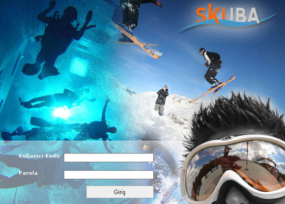 Skuba-Login 40+ Login Page Design Inspirations