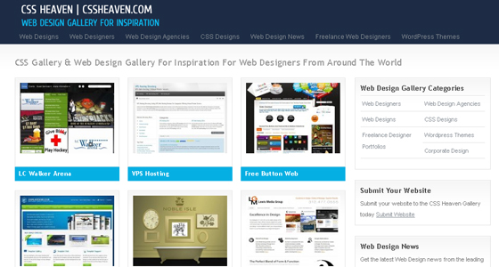 Best CSS3 Galleries