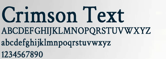 Best Google Web Fonts