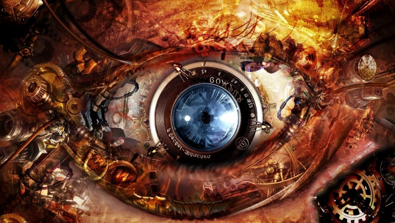 Mechanical-Eye 30+ Science fiction Wallpapers