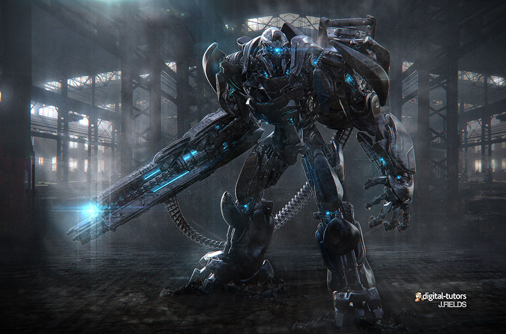 Robot2 30+ Science fiction Wallpapers