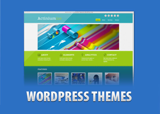 ACTINIUMIZE 60 Free And Premium Quality WordPress Themes