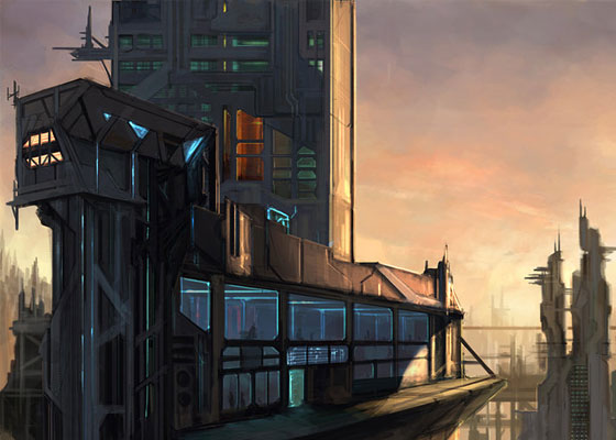 Imaginative Cities of Future Artwork