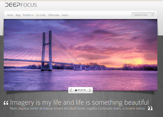 DeepFocus 60 Free And Premium Quality WordPress Themes