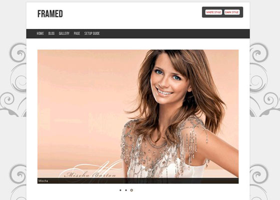 Framed-Redux 60 Free And Premium Quality WordPress Themes