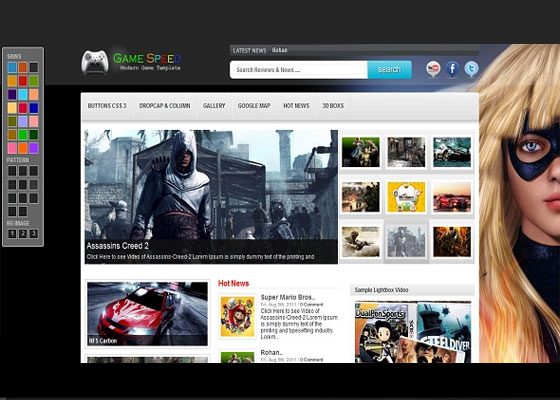 GameSpeed 60 Free And Premium Quality WordPress Themes