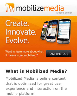Most Creative Mobile Websites