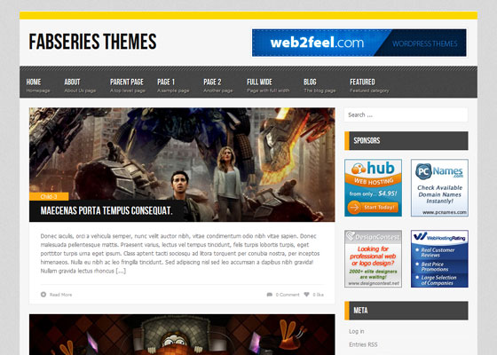 Myst 60 Free And Premium Quality WordPress Themes