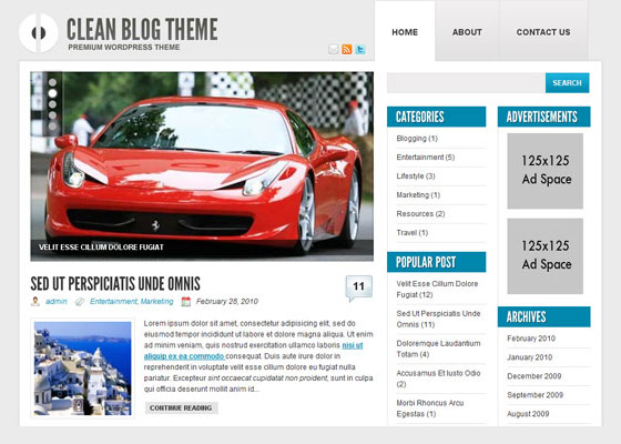 Ophion 60 Free And Premium Quality WordPress Themes
