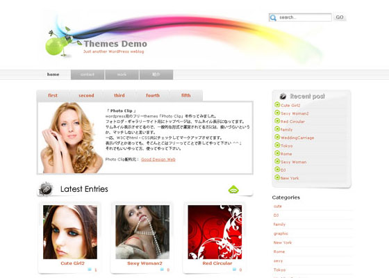 Photo-Clip 60 Free And Premium Quality WordPress Themes