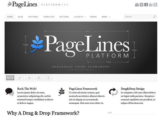 Platform 60 Free And Premium Quality WordPress Themes