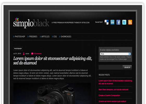 Simplo 60 Free And Premium Quality WordPress Themes