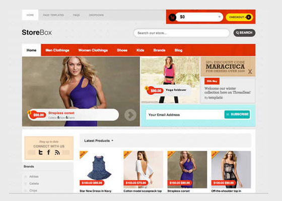 StoreBox-Theme 60 Free And Premium Quality WordPress Themes