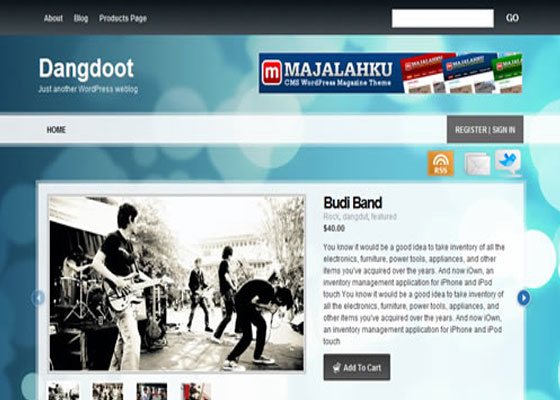 dangdoot 60 Free And Premium Quality WordPress Themes